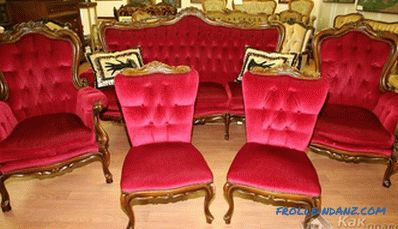 Rococo style in the interior - the characteristic features of Rococo (+ photos)
