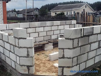 The foundation for a garage with your own hands
