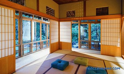 Japanese style in interior design