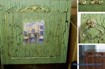 Do-it-yourself furniture painting: preparation, decoration