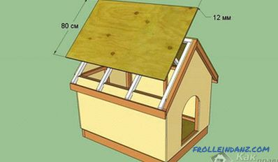 Dog box with their own hands: assembly, drawings, sizes
