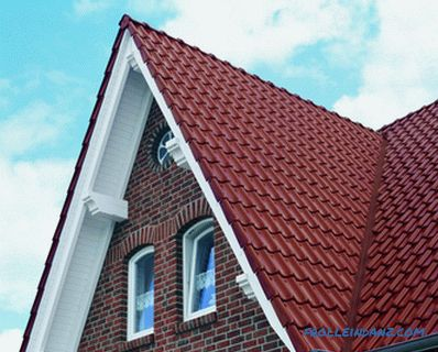 What is better metal or ondulin for the roof of a private house