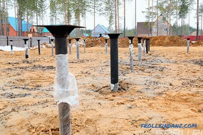 Screw piles - pros and cons, features, device