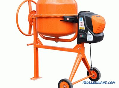 Which concrete mixer is better, rating top 5, comparison of characteristics and models