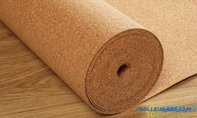 Cork underlay for laminate - selection and installation + Video