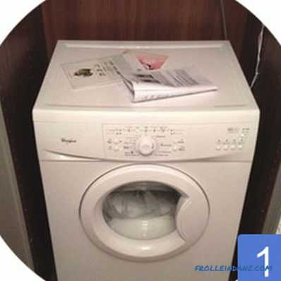 The size of the washing machine machine - what you need to know before you buy + Video