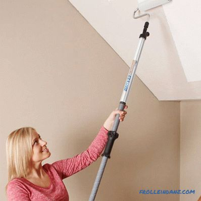 How to clean the whitewash from the ceiling
