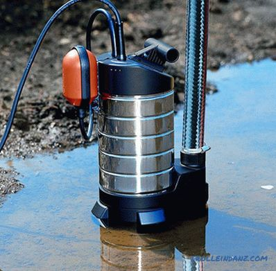 How to choose a submersible pump - models of submersible pumps
