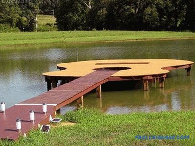 How to build a dock with your own hands