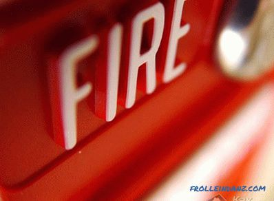 How to install a fire alarm - installation of a fire alarm