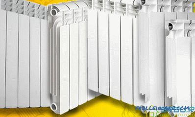 Aluminum heating radiators - technical specifications + Video