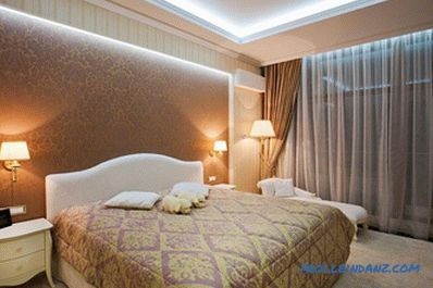 Design of gypsum ceiling 50 photos