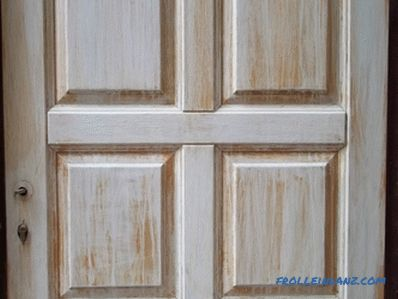 Restoration of wooden doors do it yourself (photo and video)
