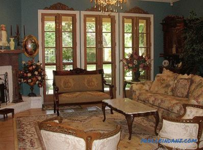 Victorian style in the interior - interior in the style of the Victorian era