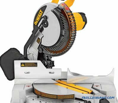 Rating miter saws with broach and without it, the best models according to user feedback