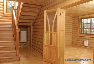 Finishing a wooden house inside and outside with their own hands (photos and video)