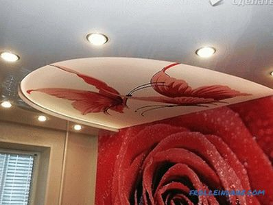 How to make a suspended ceiling with a 3D pattern