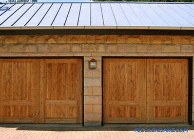 Do-it-yourself garage doors - garage door installation