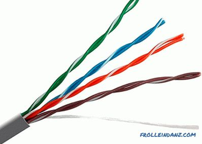 Types of cables and wires - their purpose and characteristics