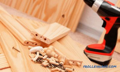 Wooden cabinet do-it-yourself: manufacturing features