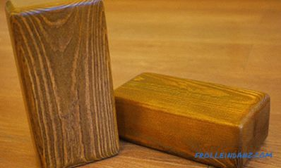 Do-it-yourself wooden bricks: can it be made?