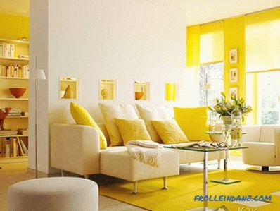 How to choose colors in the interior