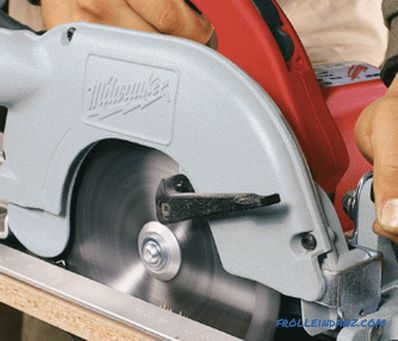 Sharpening circular saw with their own hands: how to sharpen