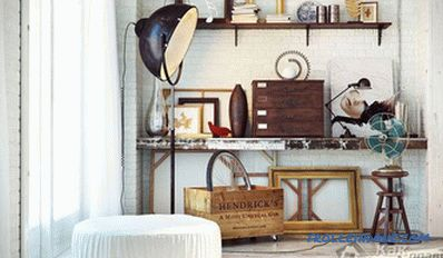 Vintage style in the interior + photo