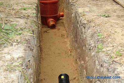 Do-it-yourself drainage well installation
