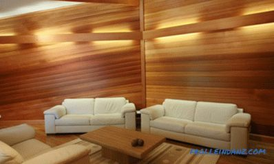 Wood cladding: features and work stages