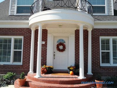 How to make a porch at home