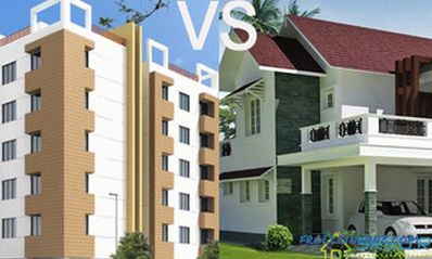 We decide what is better house or apartment + Infographics and Video