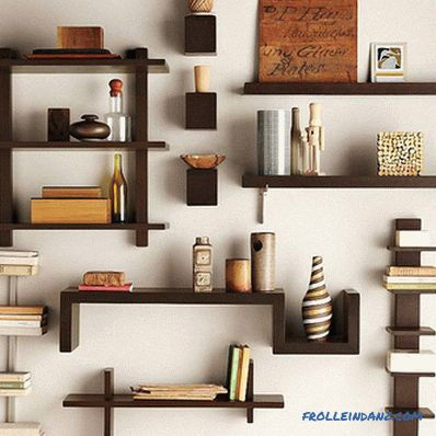 How to make shelves on the wall