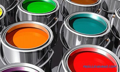 Types of paints for interior and exterior