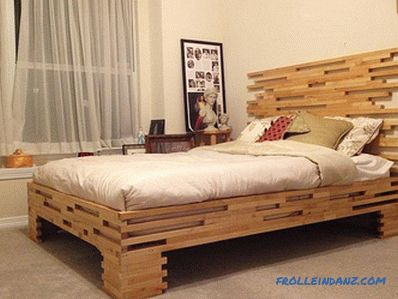 How to make a bed with your own hands