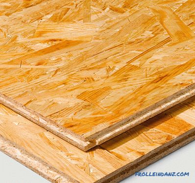 Plywood or OSB (which is better to choose)