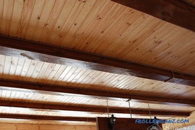 How to trim the ceiling in the house
