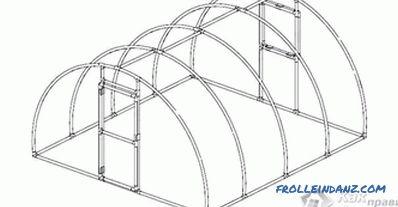 How to make a greenhouse from PVC pipes