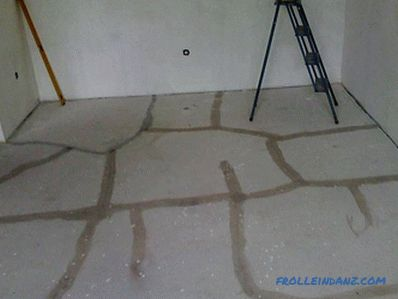 How to fill the floor screed in the apartment