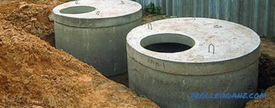 How to make a sump - rules and tips for the construction of a septic tank