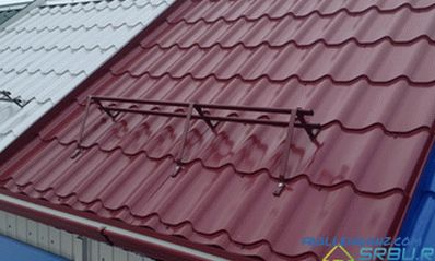 Types of metal roofing, depending on the base, profile and polymer coating + Photo
