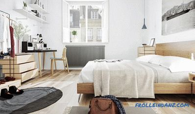 Scandinavian style in the interior of the apartment