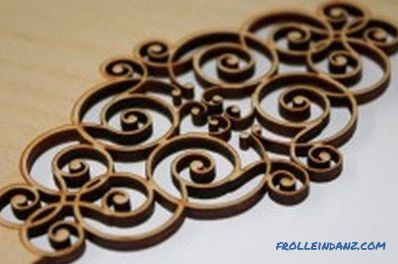 Laser cutting of plywood: features, benefits, equipment (video)