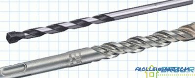 Types of drills for metal, wood, concrete and tile + Photo and Video