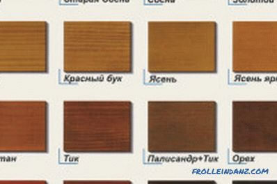 Types of wood varnishes and their distinctive features
