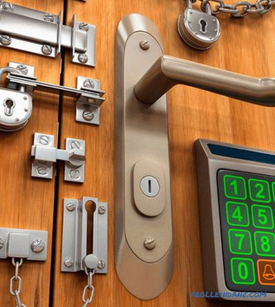 How to choose a door lock - choose the locks on the front door