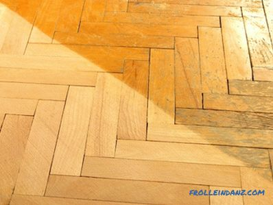 How to restore parquet do it yourself: surface restoration technology (video)