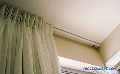 How to fix the ceiling cornice - eaves mounting technology