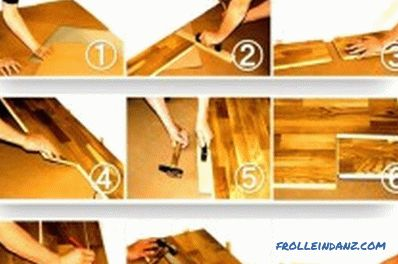 Laying the floorboard with their own hands: expert advice, instruction (video)