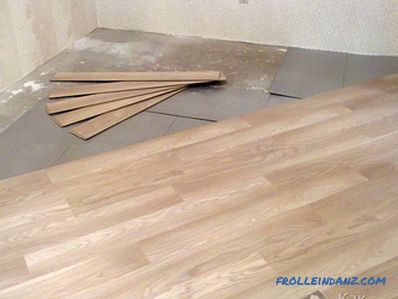 What to do if the laminate creaks